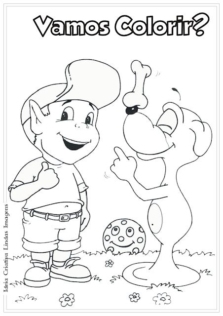 Adiboo desenho para colorir