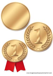 Medallas para imprimir