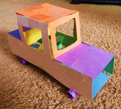 Construction Paper Car