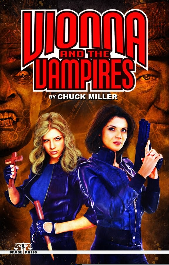 VIONNA AND THE VAMPIRES  by CHUCK MILLER