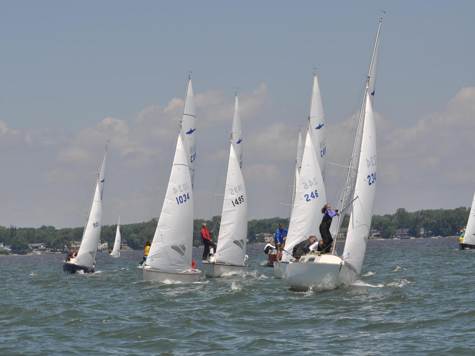 Montreal Sailing 23 Teams Race In Shark Coupe Du Qubec