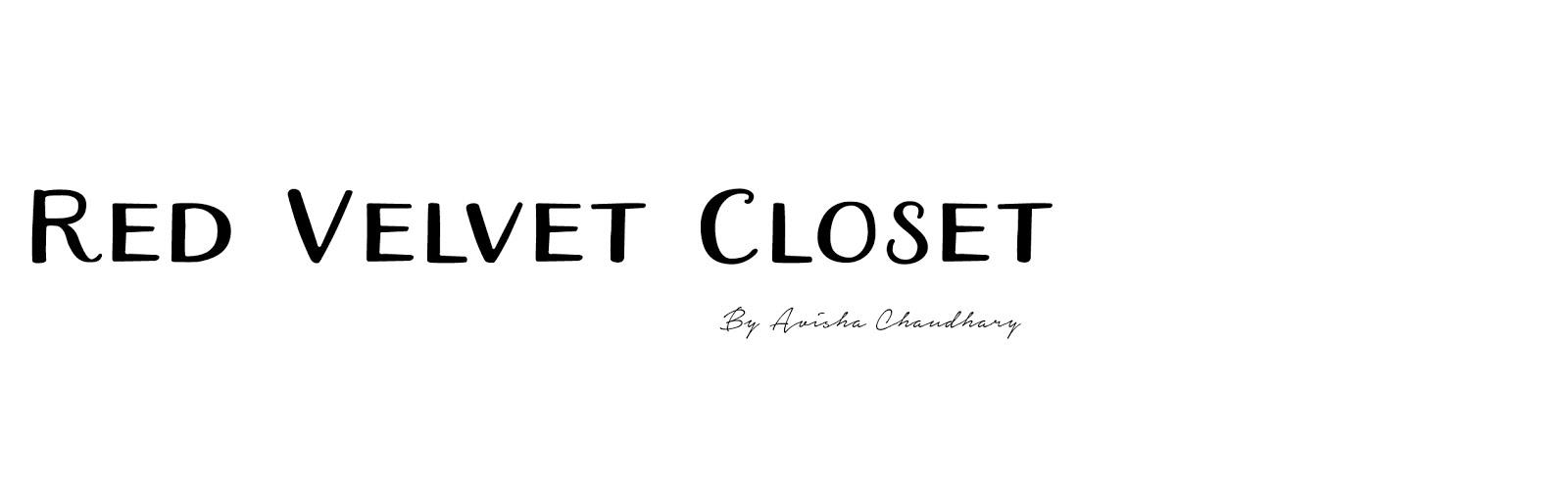 Red Velvet Closet