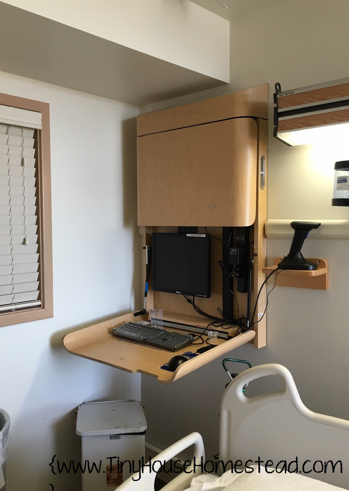 tiny house homestead a very cool desk idea