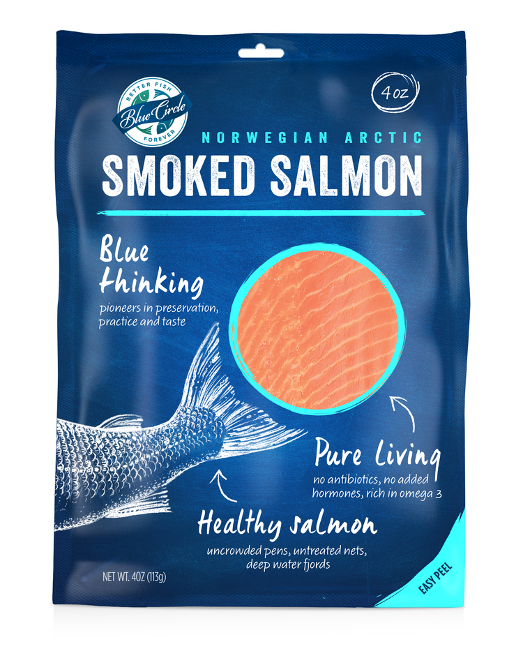Blue Circle Seafood Redesign on Packaging of the World ...