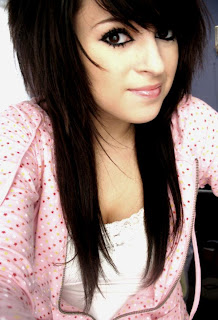 Girls Emo Hairstyle Long Hair Pictures