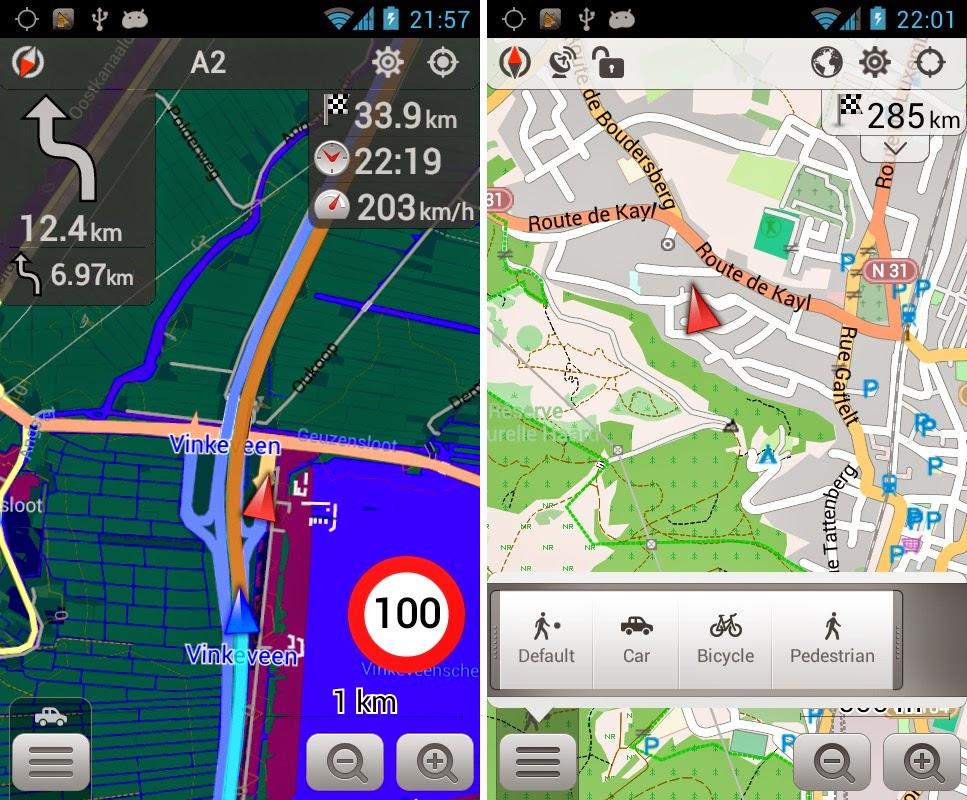 Gps OsmAnd+ Mapas e Navegação Apk v1.8.2 Full   Games
