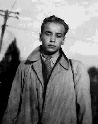 Próbowałem wyglądać jak gentlemen - Stanisław Szybalski. Fot. udostępnił Stanisław Szybalski