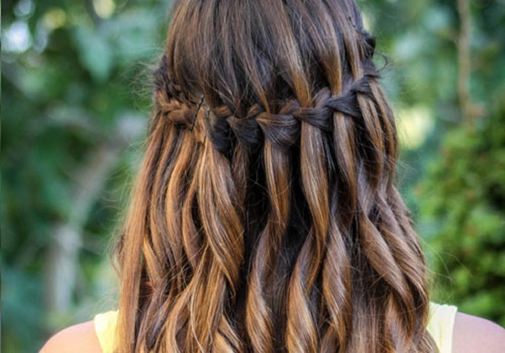 29 peinados con trenzas cascada mujeres peinados cortes for Cascada par