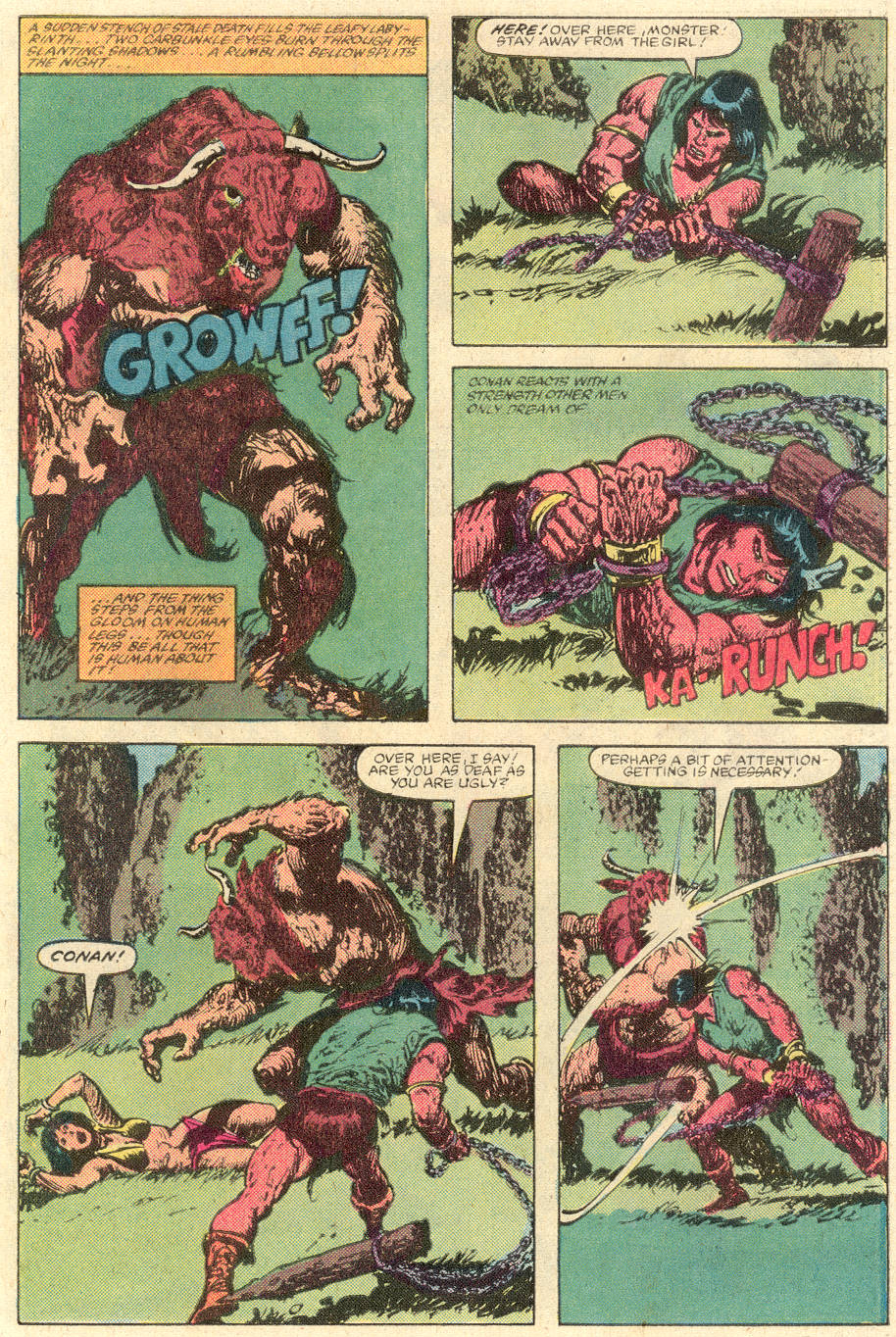Conan the Barbarian (1970) Issue #142 #154 - English 20