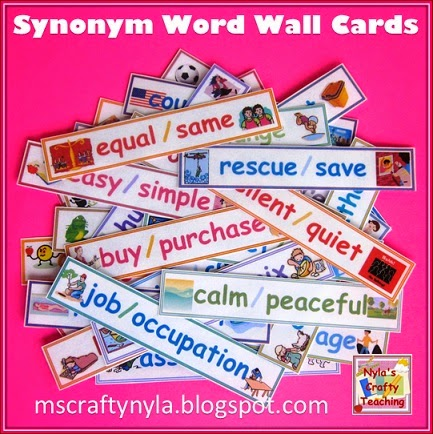 Synonyms-Word-Wall-Illustrated