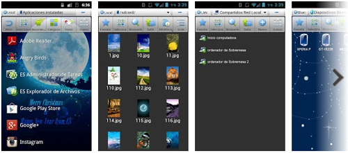 envia archivos gratis con ES file explorer - www.dominioblogger.com