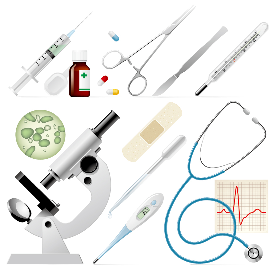 医療器具のアイコン medical supplies icon イラスト素材