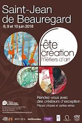 FETE DES ARTISANS D'ART A SAINT-JEAN DE BEAUREGARD 8 9 et 10 JUIN