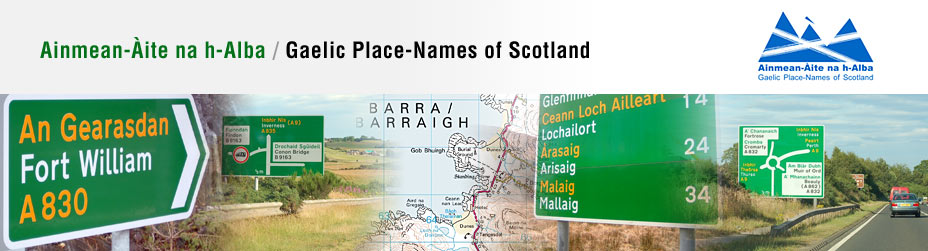Gaelic, Place Names, Highlands, Lowlands, Scotland