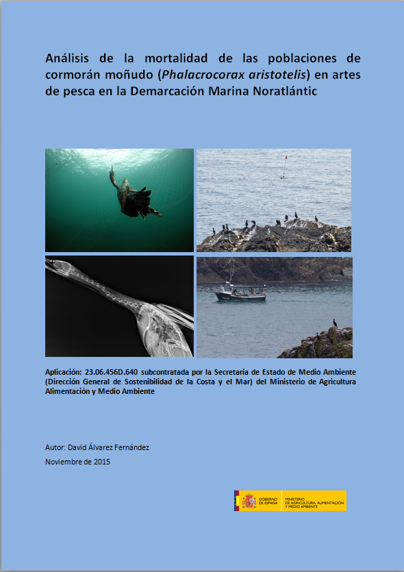 Informe Bycatch Cormorán moñudo
