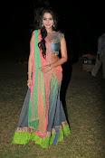 Manasa Glamorous Photos in Half saree-thumbnail-3