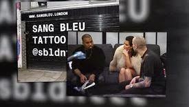 Kim Kardashian et Kanye West marquent leur séjour à Londres avec un tatouage