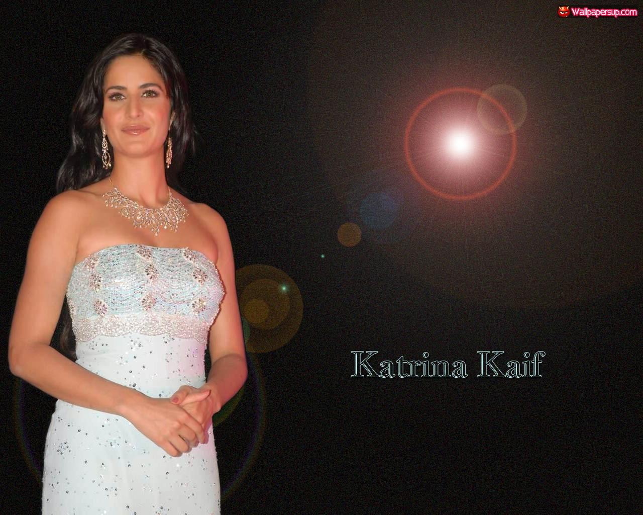 Calendar Rakhi : Katrina kaif birthday girl in white evening gown