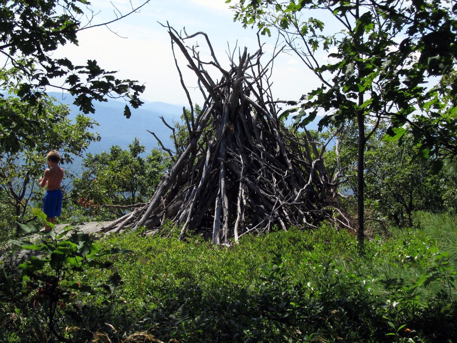 Как построить шалаш в лесу своими руками Построить шалаш