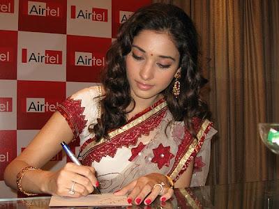 Tamanna at Airtel Super Singer Function Photos