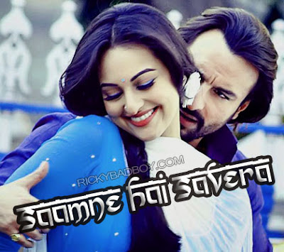 SAAMNE HAI SAVERA LYRICS - Bullett Raja | Movie Songs