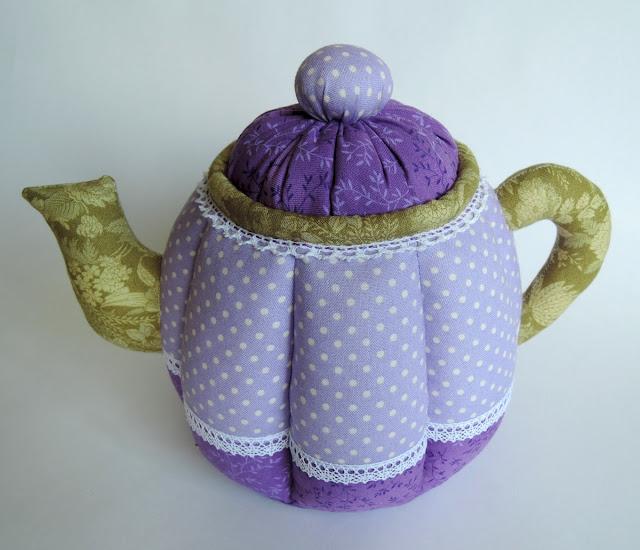 лавандовый чайник