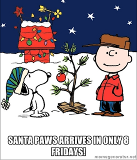 Snoop and Charlie Brown Christmas meme