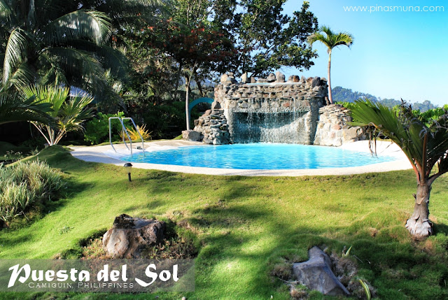 Swimming Pool of Puesta del Sol Camiguin
