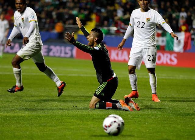 Copa América: México B e Bolívia empatam
