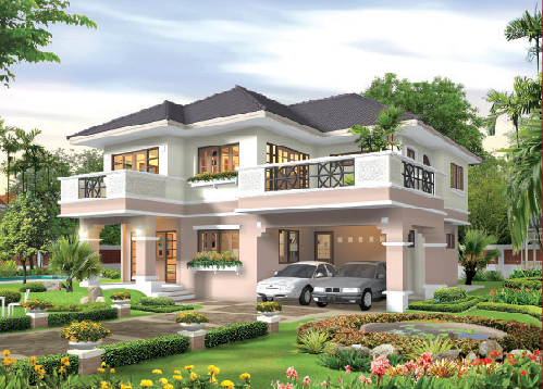 เลือกซื้อบ้านและดูทำเลบ้านสวย