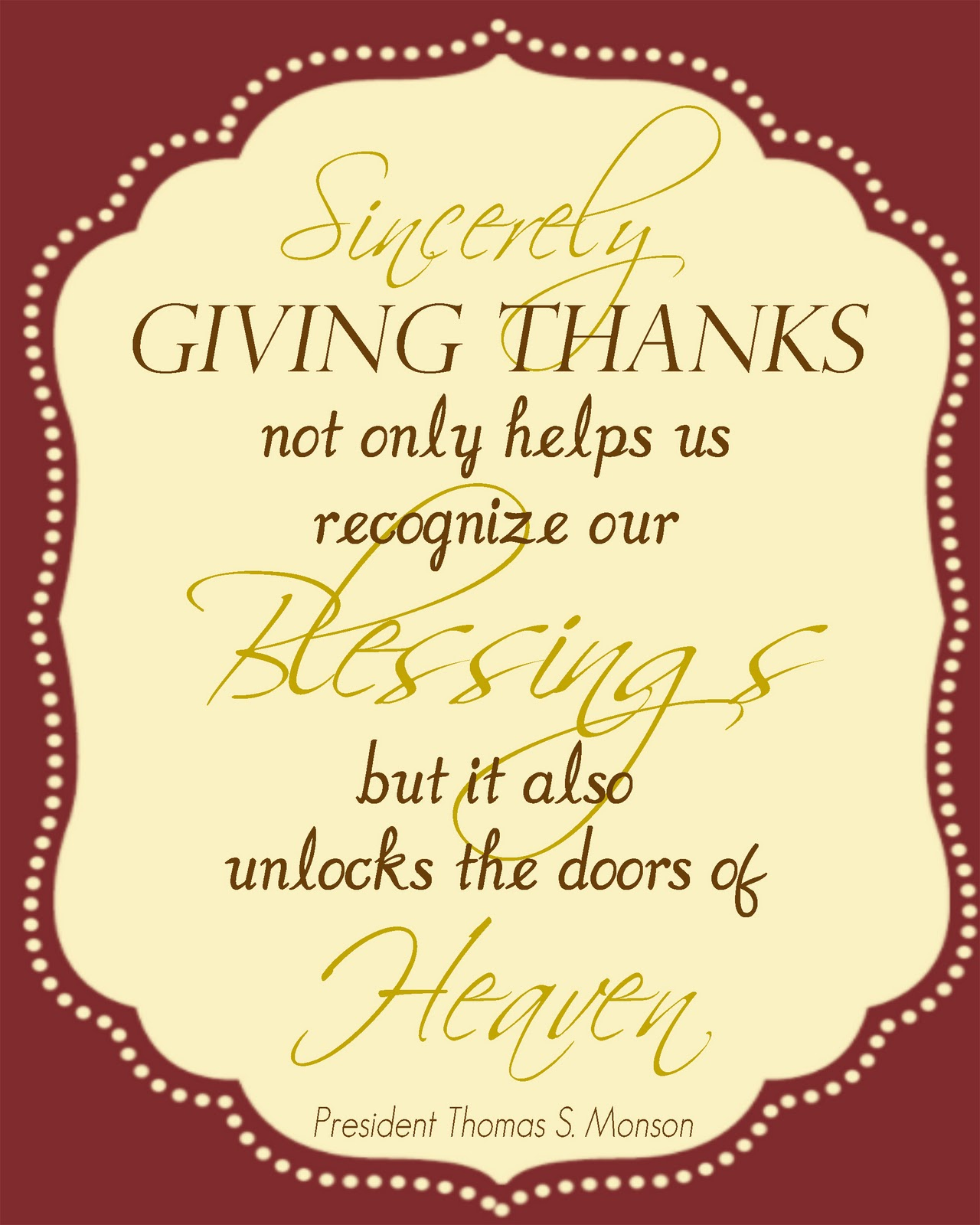 It is a photo of Amazing Give Thanks Printable