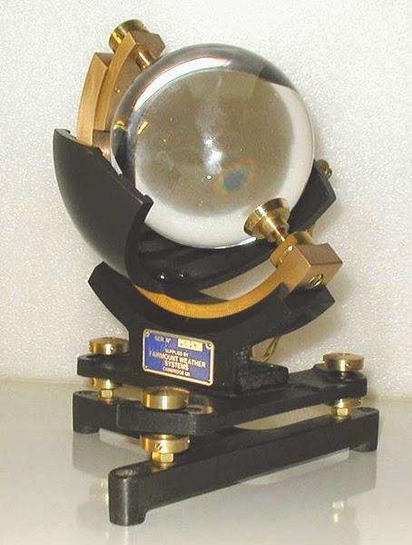 campbell strokes alat pengukur intensitas matahari