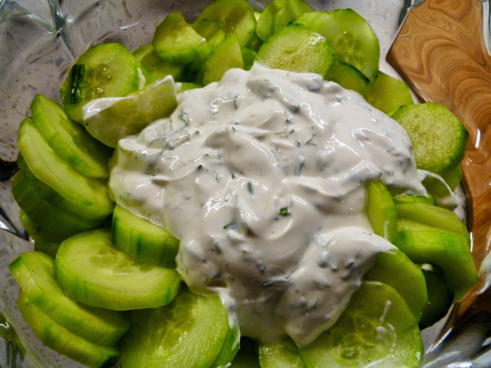 Lindaraxa: Cucumbers in Sour Cream