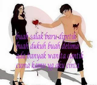 Pantun Cinta Romantis Buat Pacar