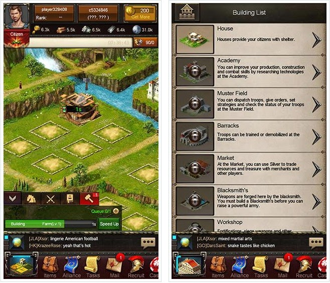 Android Empire War : Age Of Heroes Apk