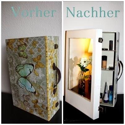 wohnvorstellungen wohnen deko und diy diy spiegelschrank selbst machen. Black Bedroom Furniture Sets. Home Design Ideas