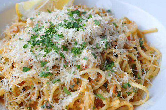 Kentish+Canteen+review+Kentish+Town+crab+linguine