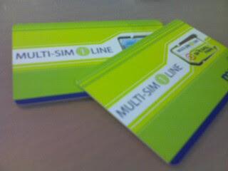 Maxis multi-SIM 1 Line