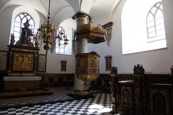 クロンボー城の礼拝堂