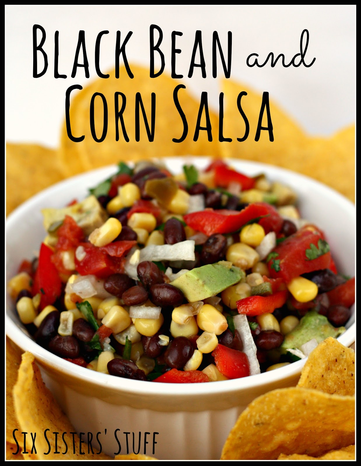 Black Bean and Corn Salsa / Six Sisters' Stuff | Six Sisters' Stuff