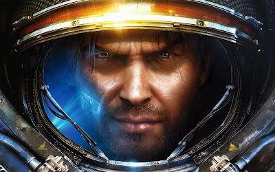 Papel de Parede Jogo StarCraft Jim Raynor para pc 3d hd gratis game wallpapers hd free