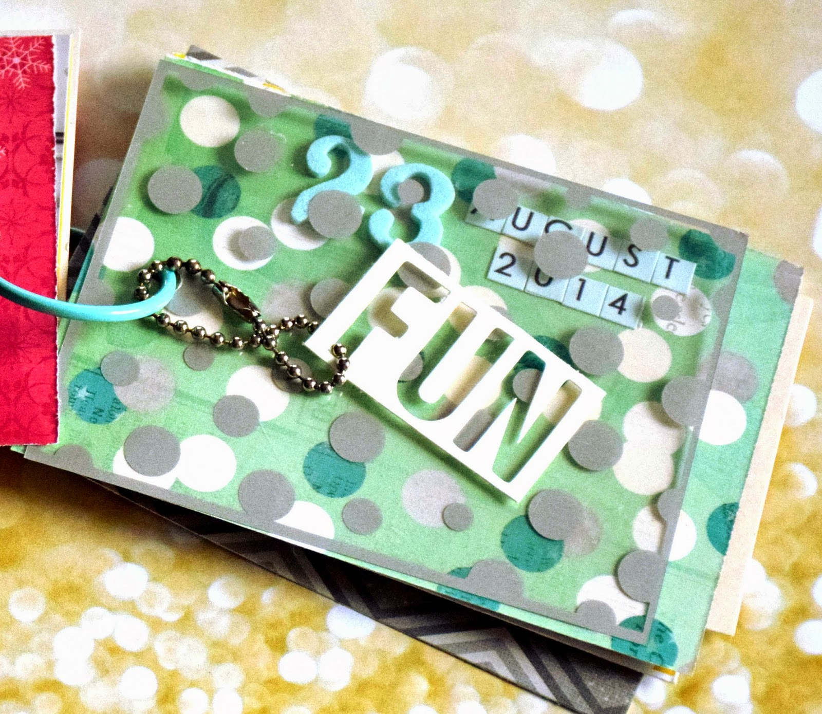 Mini Tags Scrapbooking