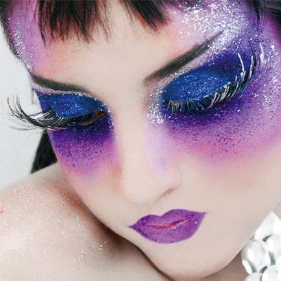 El maquillaje en carnaval es algo esencial, es la guinda del pastel