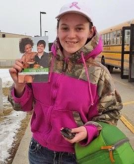 Vegan student at Iowa City West High School