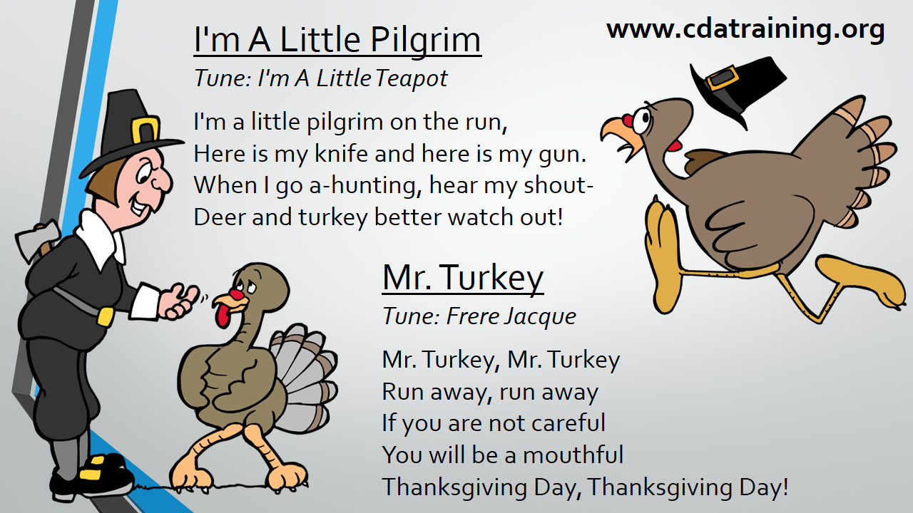 thanksgiving songs for preschool child care basics resource pilgrim songs 672
