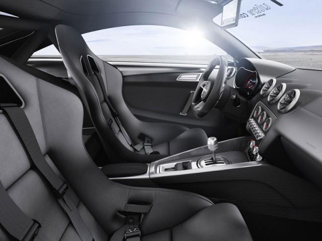 Audi TT Ultra Quattro Concept 2013 interior