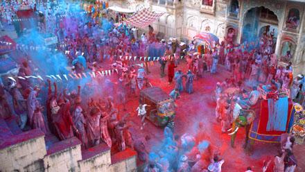Tarsem Singh Sony Experia Z advert holi festival