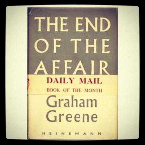 a review of the end of the affair a novel by graham greene Graham greene, the major novels: a  but is less successful than the powerful end of the affair, which greene  favorite graham greene novel travels.