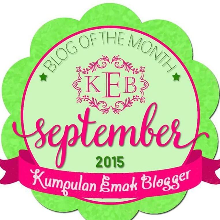 Award from Kumpulan Emak Blogger