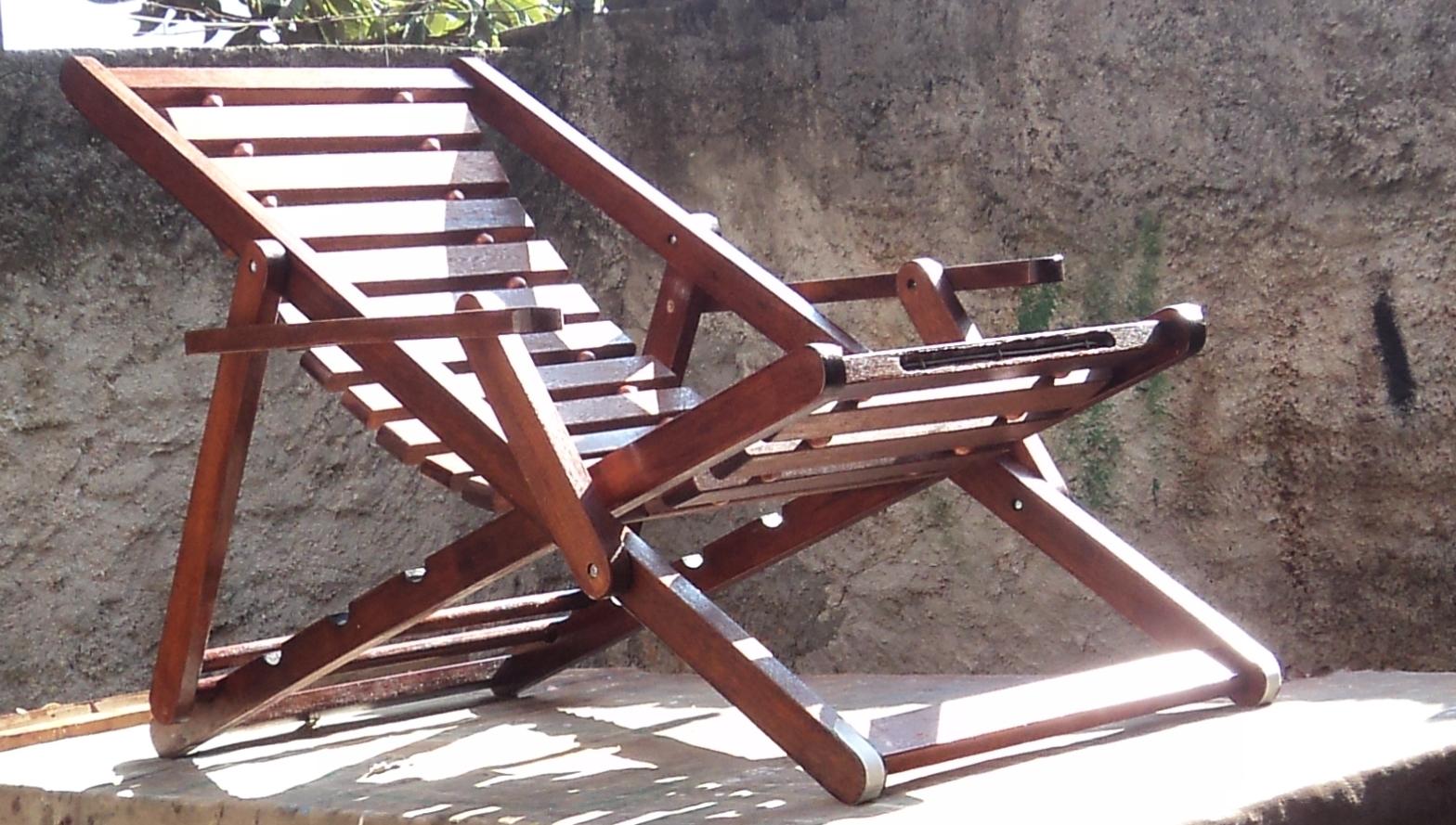 Art Madeira Ventola: Cadeira Espreguiçadeira em Madeira Vazada #81724A 1568x889